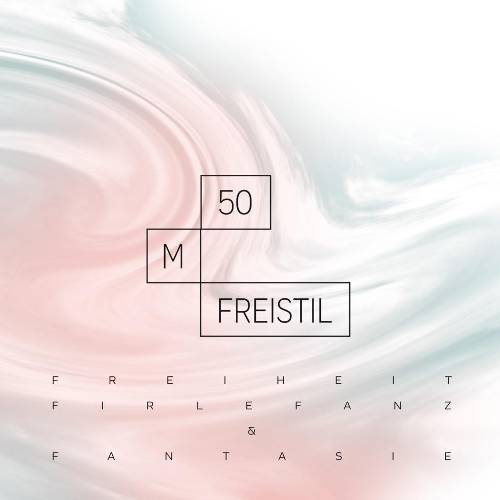 Cover 50m freistil Freiheit Firlefanz und Fantasie